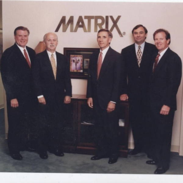 Photo of the MATRIX founding partners in the 1980's